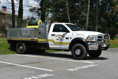 "Jefferson, Maryland's Brush 205 is a 2010 Dodge Ram 4500 that was equipped in 2012 by the Jefferson VFD.  300 gallon water tank.  ""The Hog 2""."