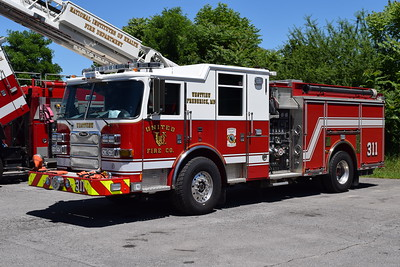 Engine 311 from the United Westview station, a 2012 Pierce Arrow XT 1500/750.