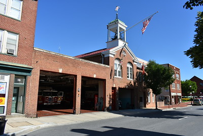 United Fire Company Station 3 in Frederick, Maryland.