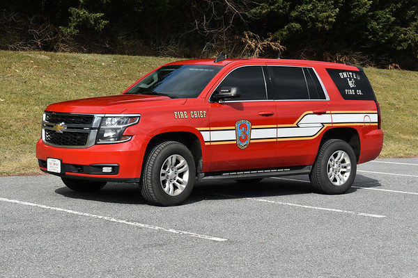 United Fire Company Chief 3, a 2014 Chevrolet Tahoe.