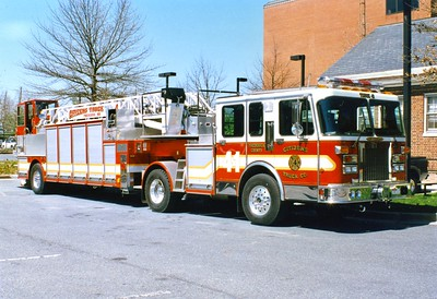 Truck 41 from Citizens Truck Company was a 1994 Spartan Gladiator/LTI, 110'.  Sold to Glasgow, Virginia.