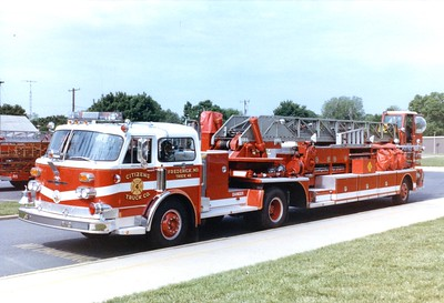 Truck 42 was a 1984 American LaFrance/1951 American LaFrance, 100'.  Replaced in 1995.