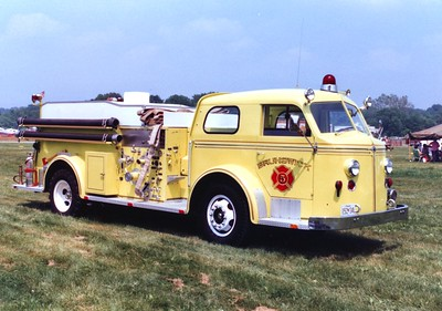Brunswick's former Engine 53, a 1953 American LaFrance 700, 750/1000.