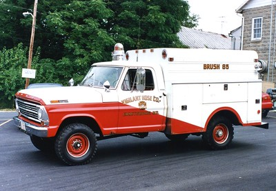 Brush 65 was this nice 1968 Ford F-250/Morysville, 25/100.  ex - Squad 6.