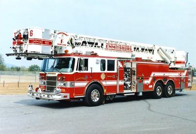 Tower 6 is a 1994 Pierce Lance, 1500/300, 100', sn- E8576.