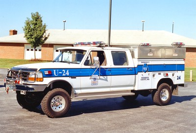 Former Utility 24 from Walkersville Rescue, 1994 Ford F-350/Reading.