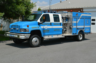 Last in the nice Walkersville blue is Brush 116, a larger 2009 GMC 5500/Pierce, 1000/250, sn- 21933.