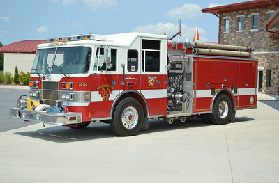 Engine 51 is this compact 1997 Pierce Saber, 1500/1000, sn- EA661.