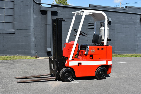 Fork Lift 40 from Oakland, Maryland - built by Clark.