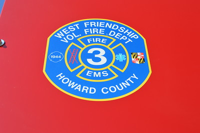West Friendship Volunteer Fire Department - Howard County, Maryland Station 3.
