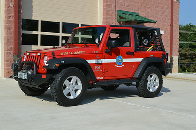 Brush 38 is a 2008 Jeep Wrangler 4x4, 10/60.