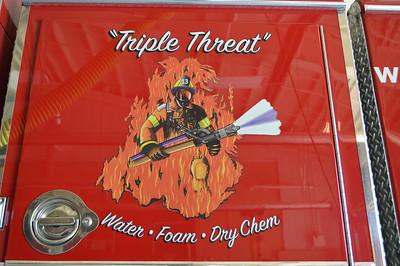 "Logo found on ""Triple Threat""."