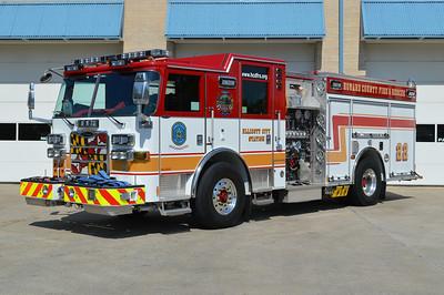 Engine 22 is a Howard County owned 2012 Pierce Arrow XT, 1500/750/60, sn- 25408.