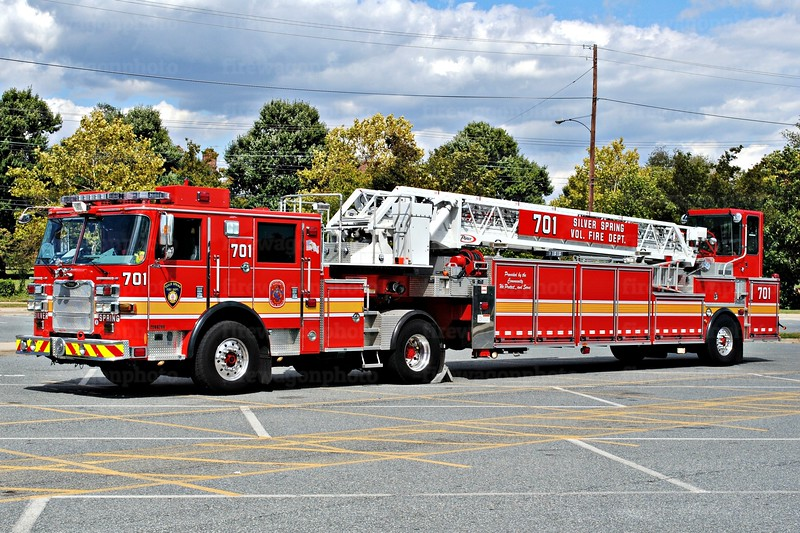 Montgomery County FD - Silver Spring Truck 701
