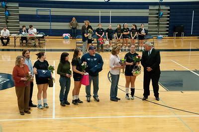 Jessica Senior Night Volleyball