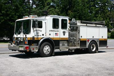 Engine 301 is a 1990 Mack MC/Saulsbury, 1250/500.