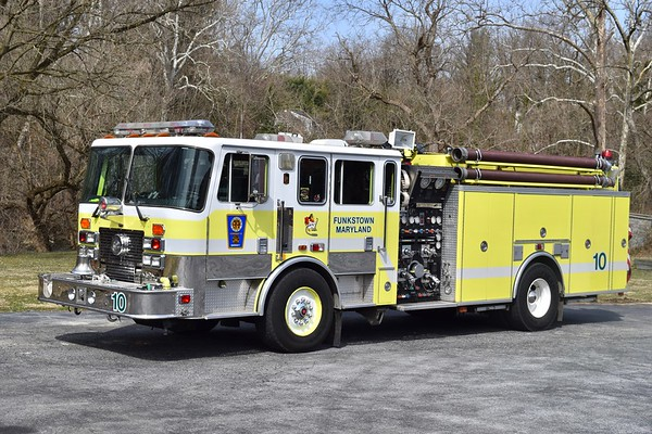 Engine 10-2 is a nice 1995 KME Renegade, 1500/1000, sn- 2247.