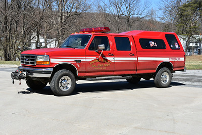 Utility 11 from Potomac Valley is a 1997 Ford F350 4x4.