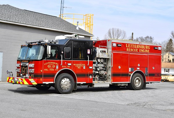 Rescue Engine 91 is a nice 2013 Pierce Saber, 1250/1000, sn- 26038.