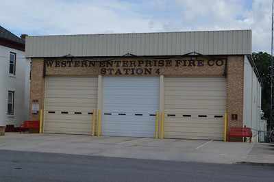 Hagerstown, Maryland Engine and Truck 4 - Western Enterprise Fire Company.