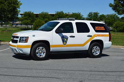 Hagerstown, Maryland Battalion Commander - a 2013 Chevrolet Tahoe 4x4.