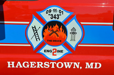 Engine 2 from Hagerstown - Antietam Fire Company.