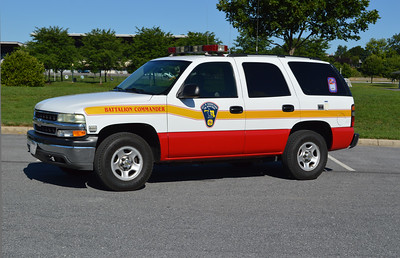 Hagerstown, Maryland reserve Battalion Commander is this 2003 Chevrolet Tahoe.
