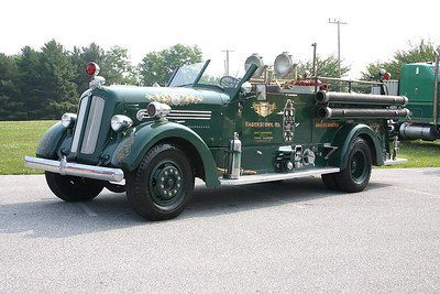 Hagerstown's 1947 Seagrave is privately owned.