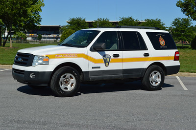 Fire Marshal Support 307, a 2006 Ford Expedition for Hagerstown, Maryland.