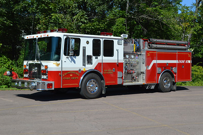Frostburg, Maryland in Allegany County.  Engine 162 is a 1995 HME 1871/4-Guys with a 1500/750/40 and 4-Guys number F-1704.