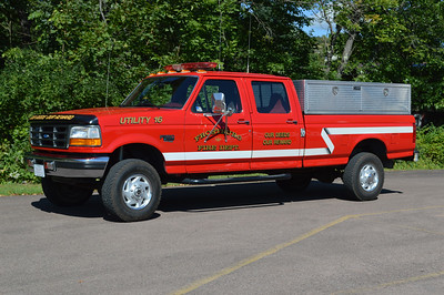 Utility 16 from Frostburg is this 1997 Ford F350 4x4.