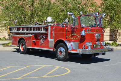 An officer's side view of privately owned 1961 Seagrave.
