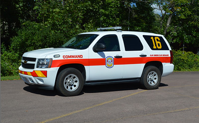Command 16 from Frostburg is this 2006 Chevrolet Tahoe.