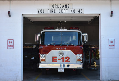 Engine 432 in quarters.