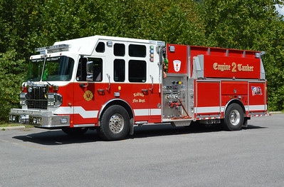 LaVale, Maryland (Allegany County) Engine Tanker 2 is a 2015 Spartan Gladiator/4-Guys with a 1500/1500 and 4-Guys number F2937.