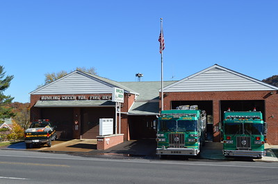 Bowling Green Volunteer Fire Department in Allegany County, Maryland.