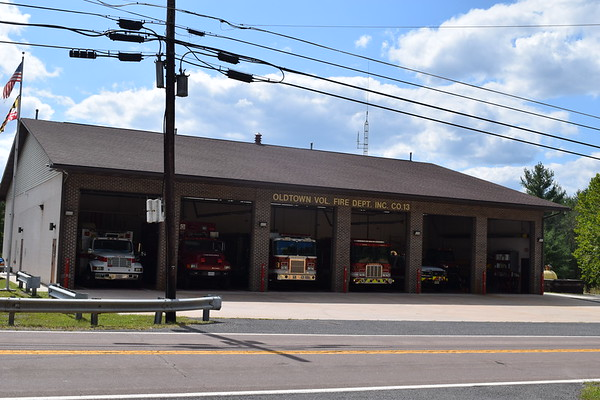 Oldtown, Maryland - Allegany County Station 13.