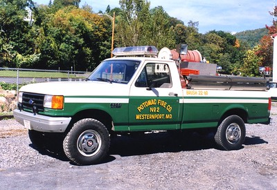 Brush 22-60 is a 1988 Ford F-250/Ashby, 125/300.