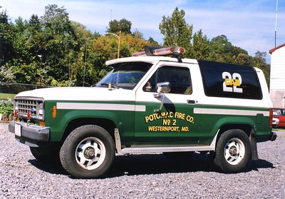 Former Car 22 was a 1986 Ford Bronco II.