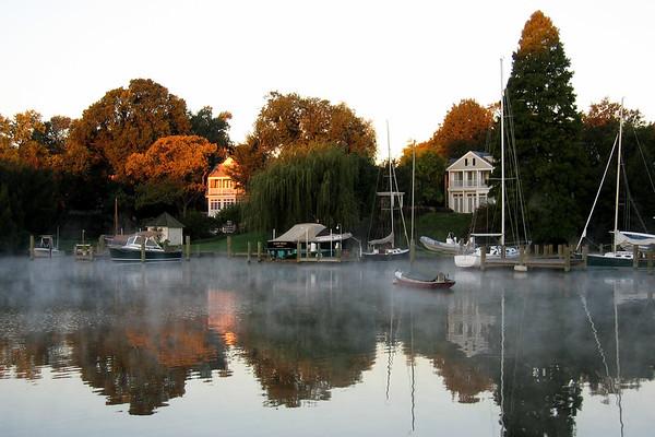 Spa Creek, Annapolis, Maryland