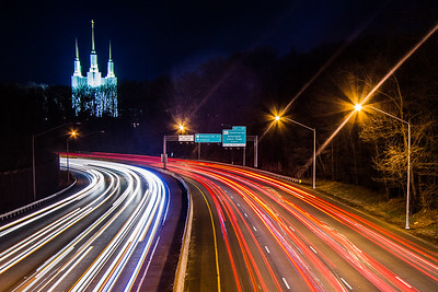 Washington DC Mormon Temple, Beltway, Kensington, Maryland, USA