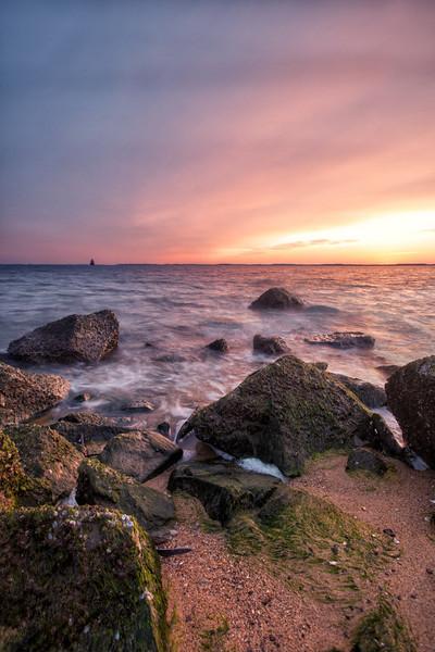Sandy Point State Park at Sunrise