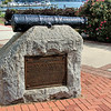 O'Neill as a member of the militia manned a cannon firing on British ships as they attacked Havre de Grace. When the British landed they captured O'Neill and sentenced him to be hung. His daughter intervened pleading her case to the British Admiral and gained her fathers release. Today a cannon on the lighthouse grounds serves as a memorial to John O'Neill.