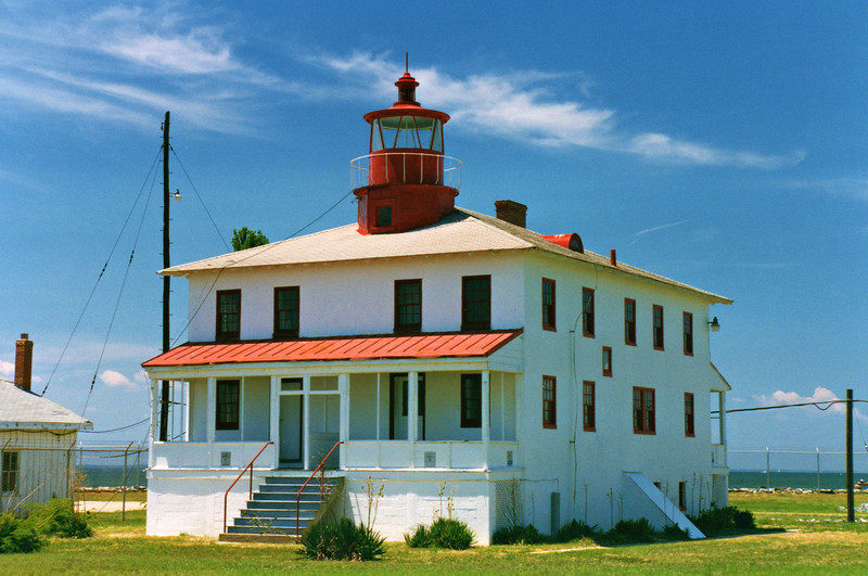 """During the 1950's the Navy purchased the land surrounding the lighthouse and when the light was decommissioned the station was given to them.  The Navy allowed civilians to reside in the Keepers house until 1981.  In 2006 the lighthouse was turned over to the state of Maryland in a land swap so it could be included as part of Point Lookout State Park.  The state has been working with the Point Lookout Lighthouse Preservation Society ( <a href=""""http://www.pllps.org"""">http://www.pllps.org</a>) to restore the lighthouse and open it to the public.  Currently they hold an open house on the first Saturday of the month from April through November, from 10 am until 2 pm."""