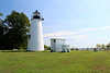 In 2000 the light was decommissioned by the Coast Guard and turned over to the Turkey Point Light Station, Inc. (tpls.org), a non-profit organized to care for the light.  The light is now part of Elk Neck State Park and there are future plans to rebuild a replica of the Keepers house.