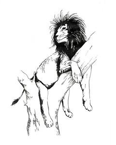 Lion 8X10