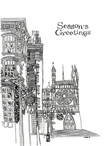 Seasons Greetings 5X7