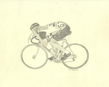 bicyclist 5X4
