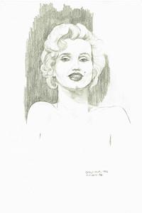 Marilyn Monroe 4X6