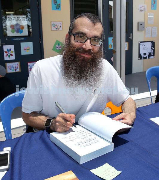 Masada College 50th Anniversary Gala Picnic. Rabbi Noteh Glogauer. Pic Noel Kessel